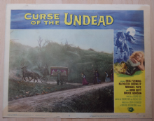 Curse of the Undead, 6 Original Lobby Cards, Eric Fleming, Western horror, '59